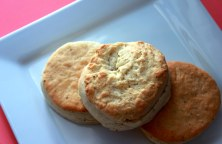 Black Pepper Garlic Biscuits