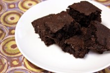 dark chocolate cinnamon brownies